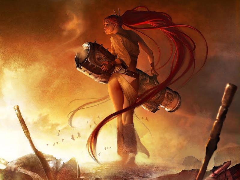 Heavenly Sword, Warriors