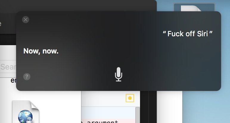 siri mistakes in mac