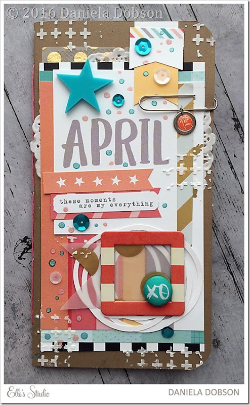 April listers notebook by Daniela Dobson
