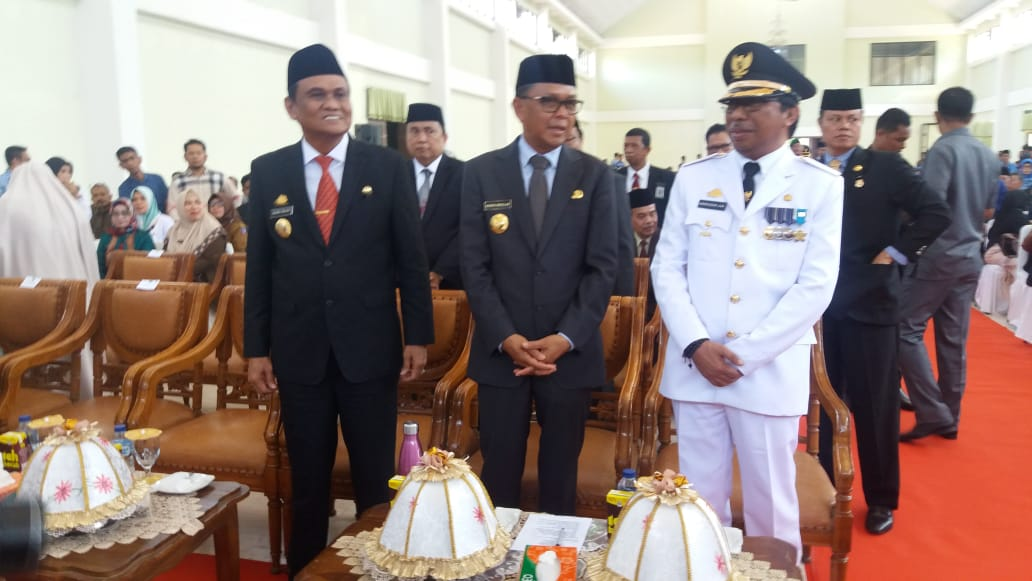 Ir. H. Nasruddin AM Resmi Dilantik  Sebagai Wabup Barru Terpilih Oleh Gubernur Sulsel