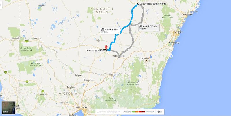 z3 von Dubbo nach Narrandera