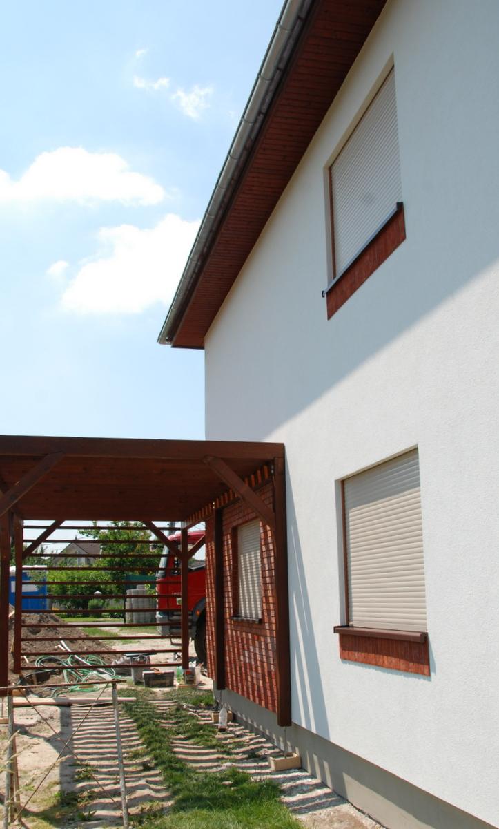 Montovaný dom Titus - realizácia stavby 2015