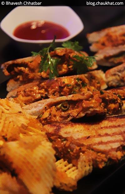 Tandoori Murgh Toasties, BarBar, Phoenix Market City, Viman Nagar, Pune
