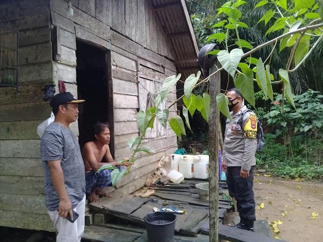 Inspiratif, Bripka Dody Bangun Rumah Warga Jorong dari Kantong Pribadi