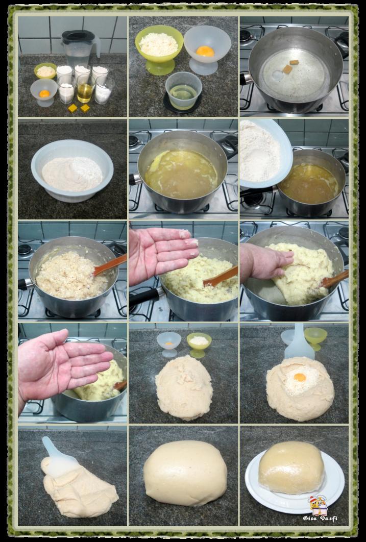 Rissoles de queijo e presunto 3