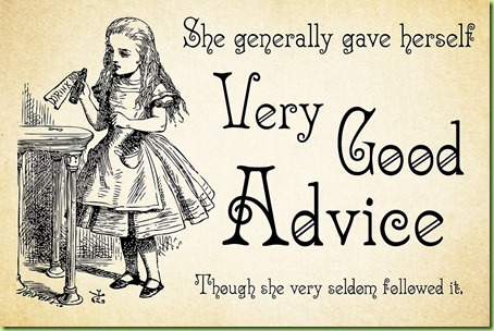 alice advice