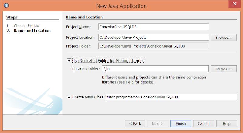 Proyecto Java en Netbeans