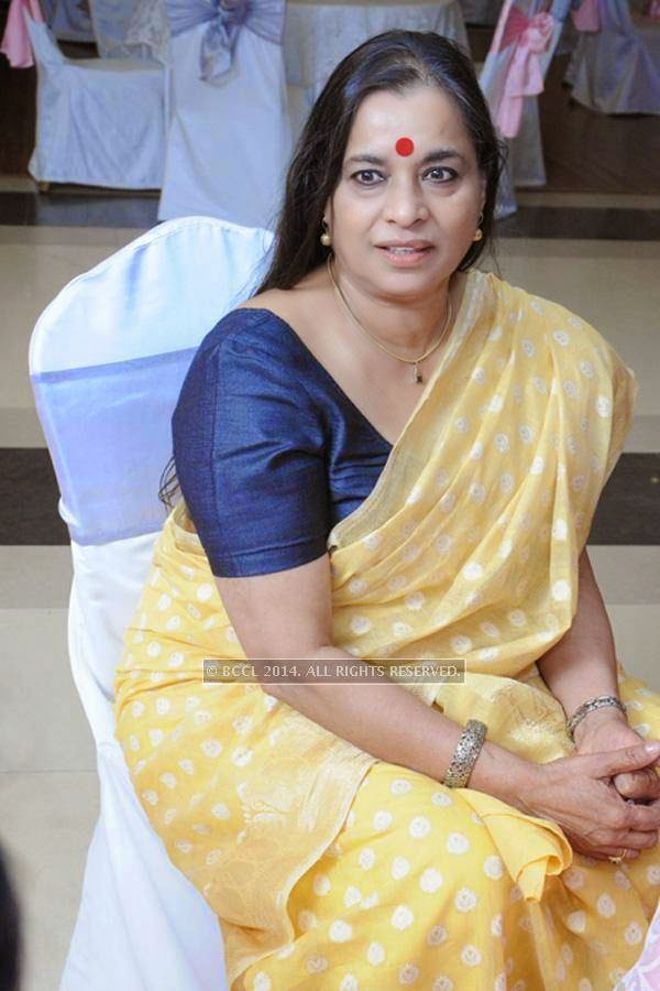 Ranjana Kumari during the wedding anniversary.