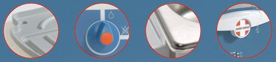 Панель управления ультразвуковой ванны для медицинских инструментов
