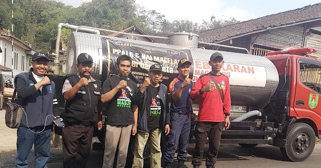 Kegiatan Bersih-bersih Masjid Baitul Muttaqin Genito Kidul, Genito, Kecamatan Windusari dan BBM Peduli Kekeringan di Grabag Kabupaten Magelang