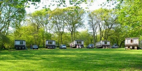 Camping  at Snapdown Farm Caravans