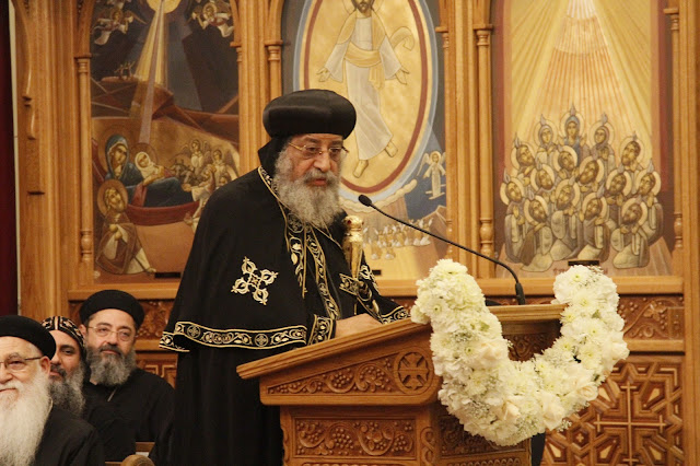 His Holiness Pope Tawadros II visit to St. Mark LA - _MG_0592.JPG
