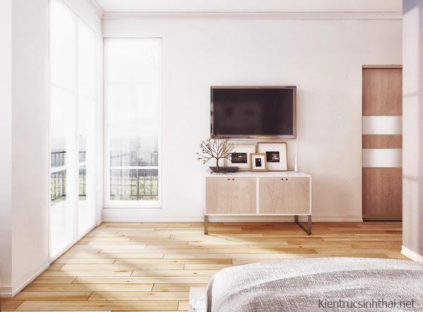 Mẫu thiết kế phòng ngủ ấm cúng, nhẹ nhàng