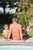 Jake & Bernd at the pool (© 2010 Isabell Gernert)