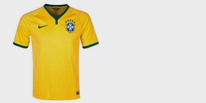 Brazil Home Kit 2014 FIFA World Cup – Official Shirt Release