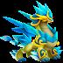 Dragón Lapisázuli Erudito | Enlightened Blue Lapis Dragon