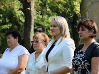 20 Czuczor Mária, Andód polgármestere és munkatársa is tiszteletét tette az ünnepségen.JPG