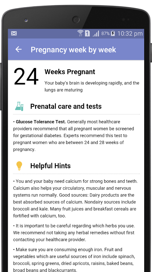 I'm Pregnant / Pregnancy App- screenshot