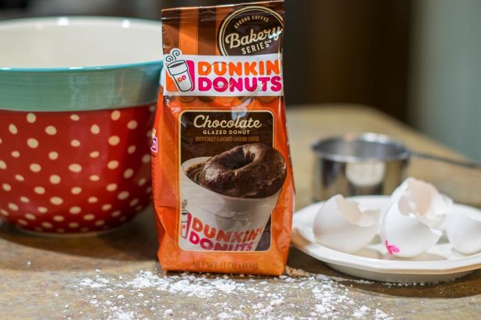 Dunkin' Donuts® Chocolate Glazed donut.