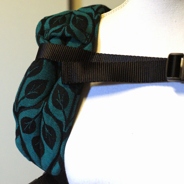 Yaro Slings La Vita Emerald/black - Wrapconversion SSC by MamaMerel