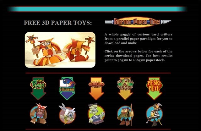 free-3d-paper-toys