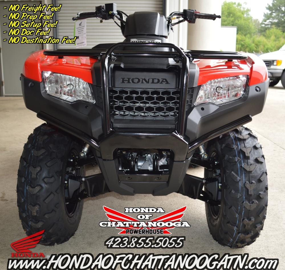 2016 Honda Rancher 420 4x4 For Sale : Your Chattanooga TN / GA / AL ATV  Deale.