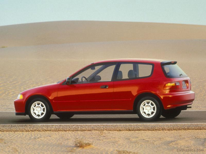 ... 1992 Honda Civic Hatchback 00003 ...