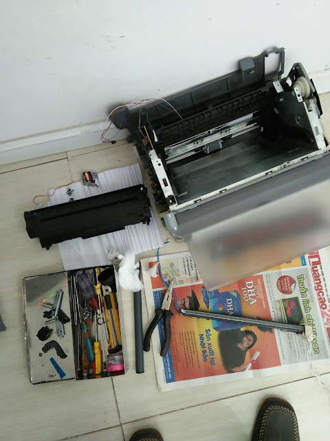 Sửa máy in giá rẻ Quy Nhơn