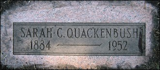 Copy of QUACKENBUSH_Sarah C_WoodlawnCemDetroit