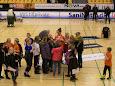 Aarup BK var til dame liga kamp. U10 og U12 piger  fik både set godt håndbold og fik snakket med stjernene efter kampen.