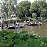 In de middag zijn de junioren in Nieuwesluis aangekomen