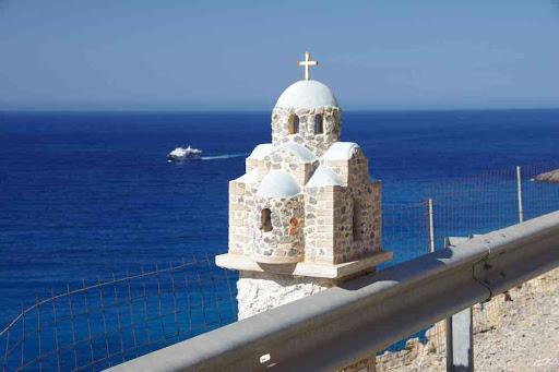 Mémorial typiquement grec.