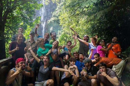 Wairere Falls Hiking Trip