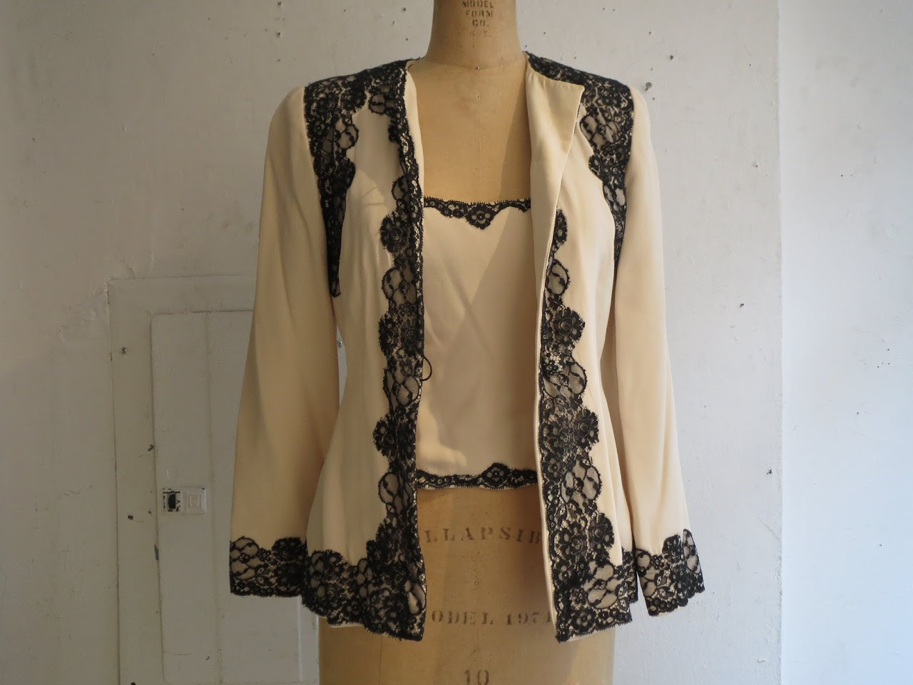 Carolina Herrera Jacket and Top Combo