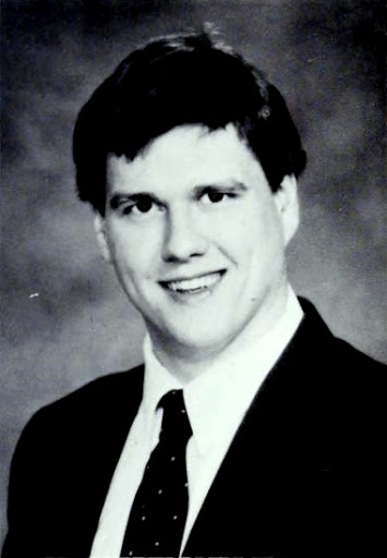 Bill Bauer from 1986 yearbook