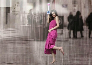 Air umbrella-A ♨ gift for cool rain