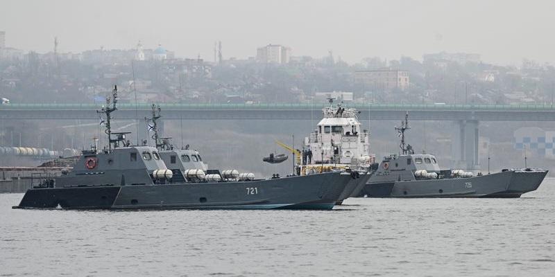 Rusia Kirim Dua Kapal Perang Ke Laut Hitam, Sinyal Untuk Ukraina?