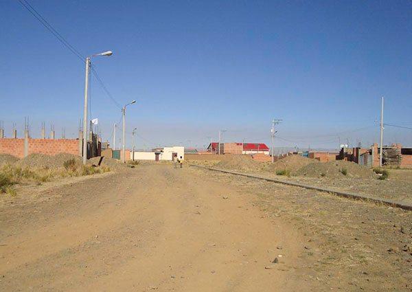 Barrios de El Alto