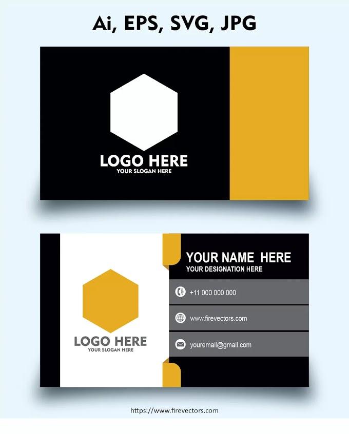 Business Card Template AI - 04