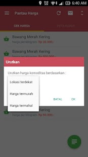 Pantau Harga Mobile- screenshot thumbnail
