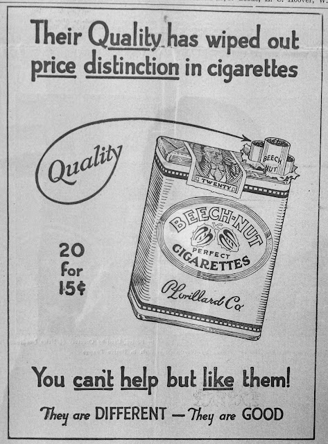 cigarette advertising in the 1930 s early years fit to print