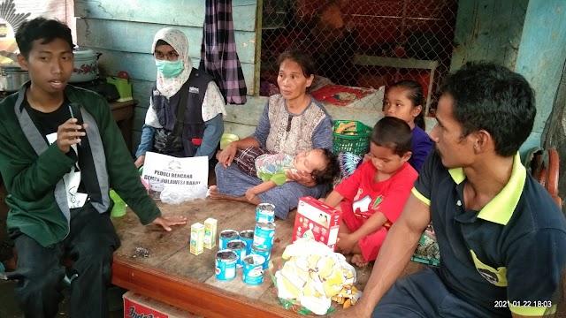Al-Islam Peduli Salurkan Bantuan Melalui MDMC Sulbar