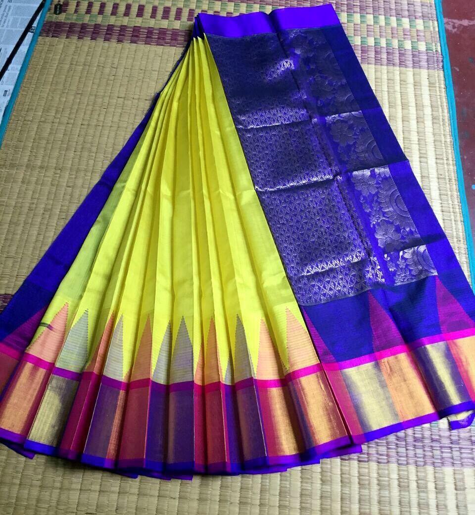 ANC : Kuppadam Korvai Silk Saree @Rs  5600 | Koyal Fashions