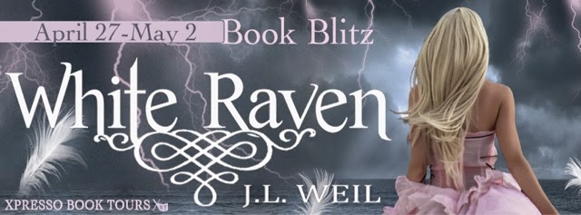 Book Blitz: White Raven by J.L. Weil