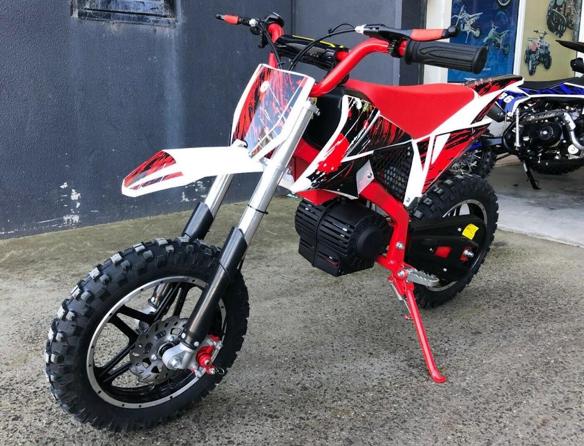 500W Kids Electric 36V Battery Powered Mini Dirt Bike