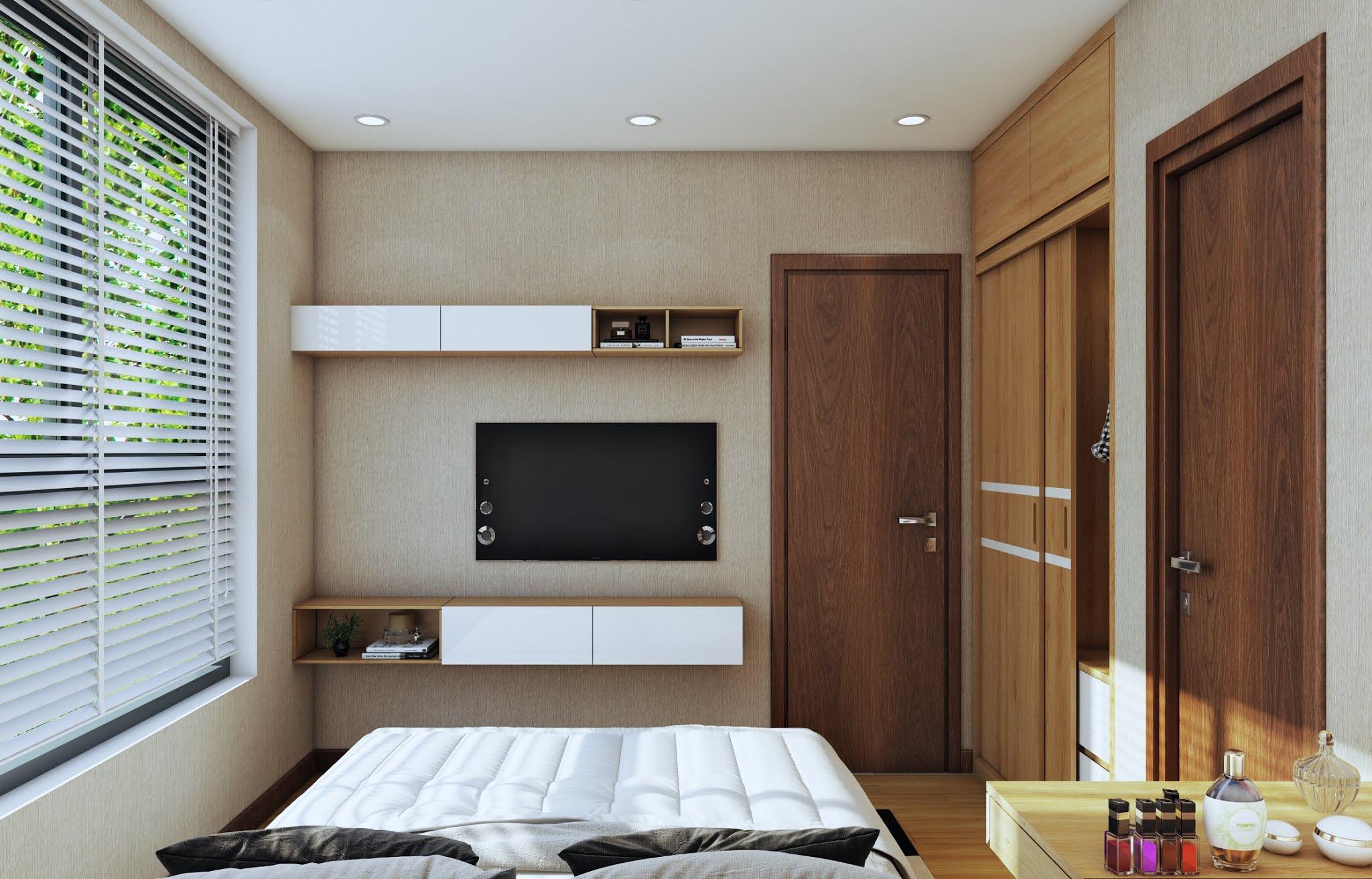 Nội thất phòng ngủ chính Bcons Suối Tiên
