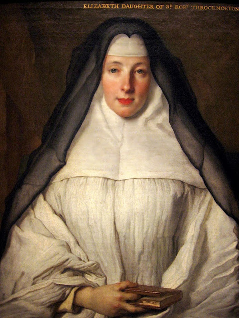 Nicolas de Largillière - Portrait of Elizabeth Throckmorton