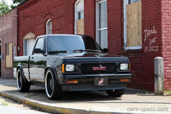 1992 Gmc Sonoma Regular Cab Specifications  Pictures  Prices