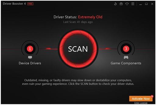 برنامج درايفر بوستر لتحديث تعريفات ودريفرات الويندوز أحدث إصدار Driver Booster -2