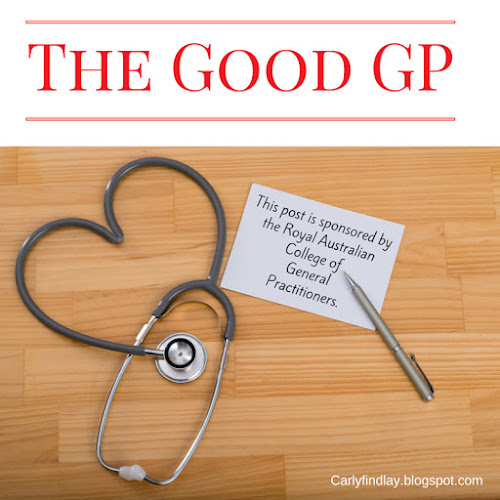 Image: heart shaped stethoscope. Text: The Good GP, This post is sponsored by Royal Australian College of General Practitioners.